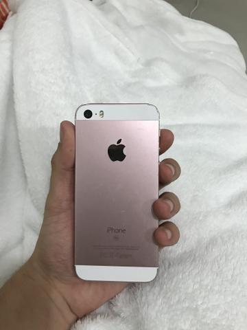 IPhone SE 64GB pego iPhone na troca