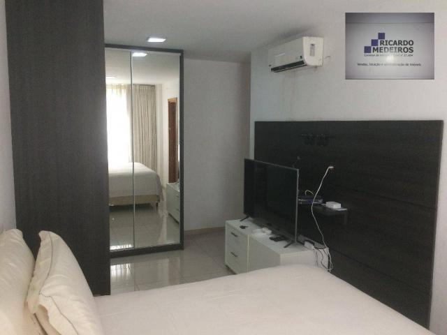 Apartamento de 82m², com 2 suítes, loteamento aquarius - Foto 8
