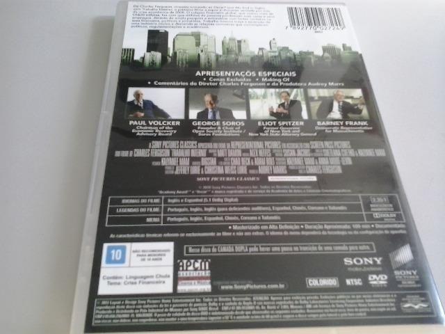 DVD Trabalho Interno (Documentário) - Charles Ferguson - Foto 3