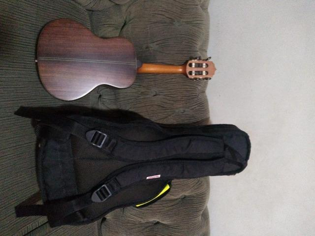 Cavaquinho Araújo Luthier Super Clássico Jacarandá Escala em Ébano Com Bag Anthology - Foto 5