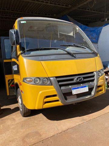 Microônibus Escolar Marcopolo Volare V8L Ano 2010 motor Mwm x10 31Pas. Em Cascavel,PR - Foto 9