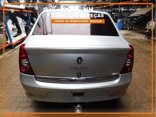 Sucata Renault Logan 1.6 106cv Flex 2013 (Somente Peças) - Foto 11