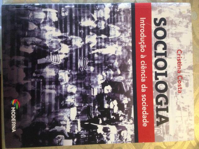 Livro Sociologia Introdução à ciência da sociedade -Cristina Costa - Editora Moderna