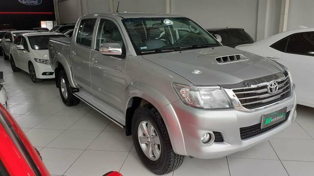 Toyota hilux SRV 4X4 Diesel 2020 pago - Foto 2
