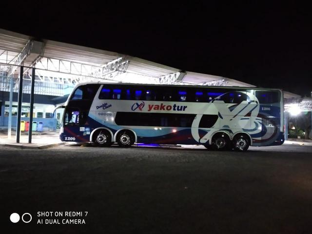 Vendo ônibus doublé deck 2006 Scania - Foto 3
