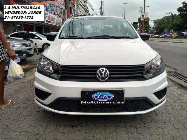Volkswagen Voyage msi 1.6 flex 8v 2019 _ entrada apartir de 9mil + 48x 727,00 fixas - Foto 6