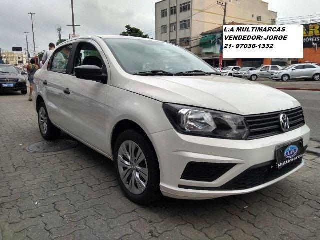 Volkswagen Voyage msi 1.6 flex 8v 2019 _ entrada apartir de 9mil + 48x 727,00 fixas - Foto 2