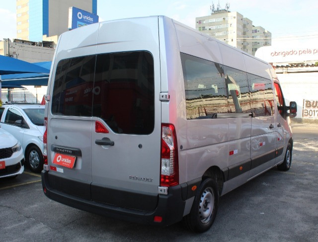 Master Minibus 16 lug Executive L3h2 2.3 / 2019 - Super Nova / Único Dono - Foto 4
