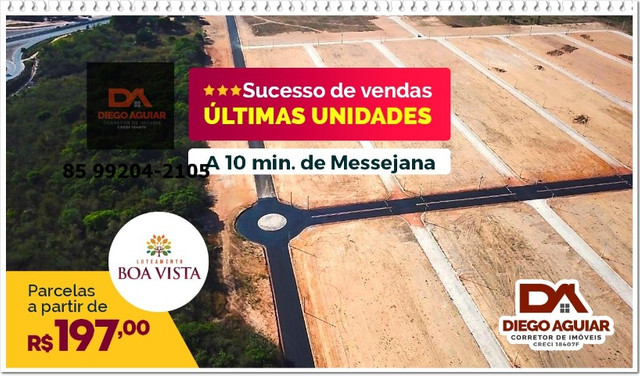 Lotes Boa Vista ¨%$#@! - Foto 2