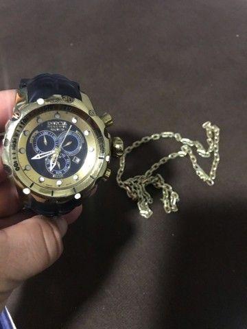 Relógio e cordão  - Foto 2