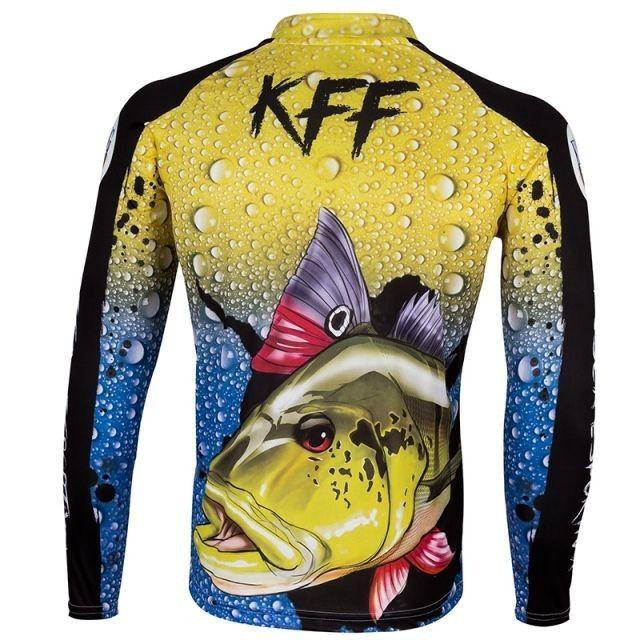 Camisa camiseta de Pesca kit Pai e Filho com proteção UV apronta entrega. - Foto 3