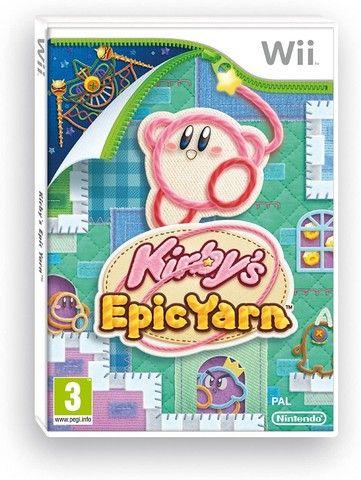 Kirby´s Epic Yarn - Wii - Usado