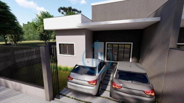 Casa com 2 dormitório à venda, 64 m² por R$ 225.000 - Sao Caetano - Foz do Iguaçu/PR - Foto 4