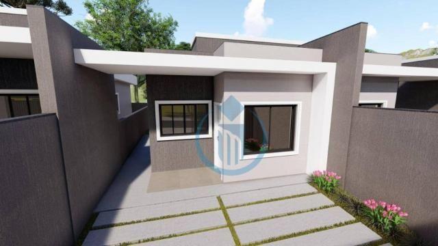 Casa com 2 dormitório à venda, 64 m² por R$ 225.000 - Sao Caetano - Foz do Iguaçu/PR - Foto 5