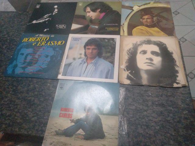 Coleção de discos do Roberto Carlos