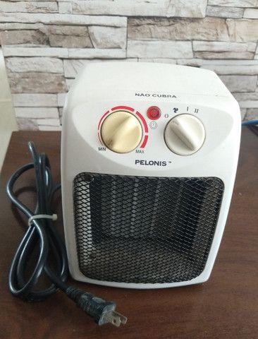 Aquecedor de Ar Pelonis 127V - Usado - Foto 2
