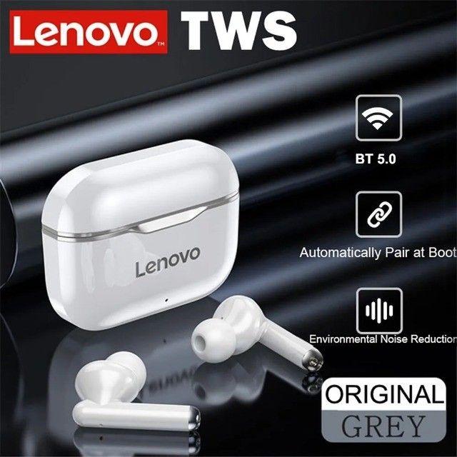 Fone De Ouvido Bluetooth Sem Fio Lenovo Lp1 Livepods Airpods - Foto 5