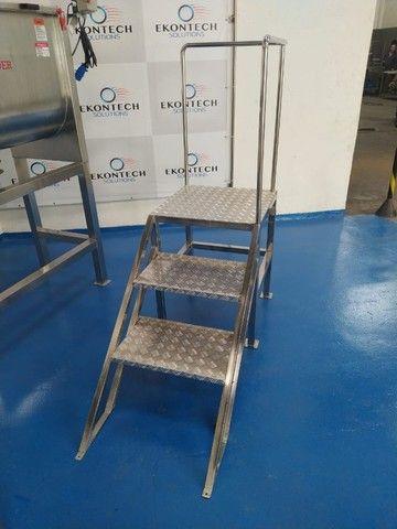 Misturador Industrial de Pós Ribbon Sample Blender - Melhor Custo Benefício do Mercado  - Foto 3
