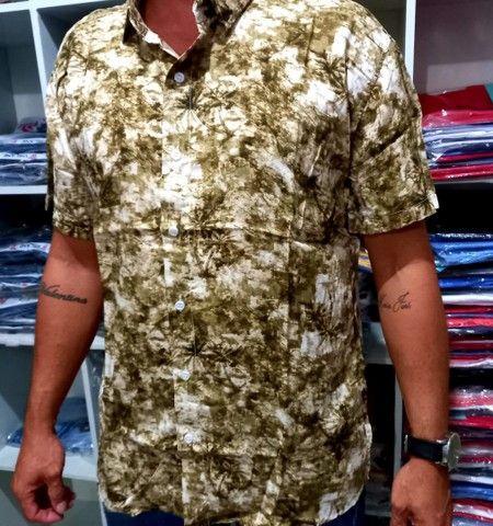 Camisa estampada  - Foto 4
