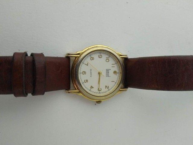 Relógio Dumont feminino dourado  - Foto 4