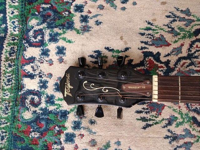 Violão ( tagima california ) acoustico elétrico  - Foto 4