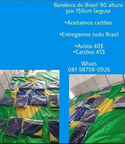 Bandeira Brasileira,tamanho: 90X150