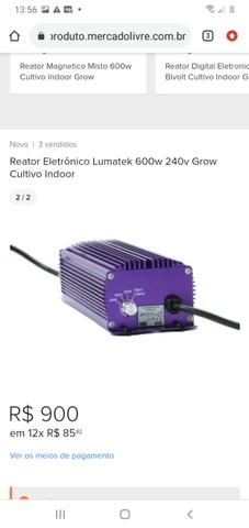Reator Eletrônico Lumatek  dimenrizável