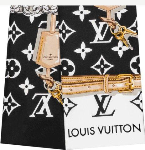 Lenço bandeau Louis Vuitton - Foto 4