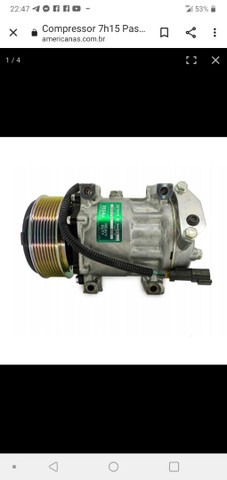 """Compressor de ar condicionado nunca usado.""""NOVO"""" - Foto 2"""