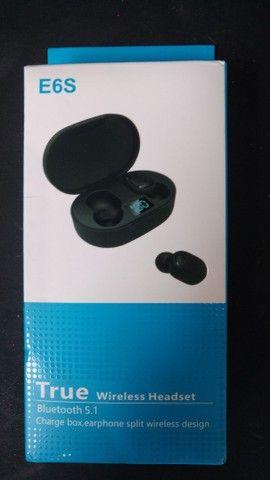 Fone de ouvido bluetooth - E6S