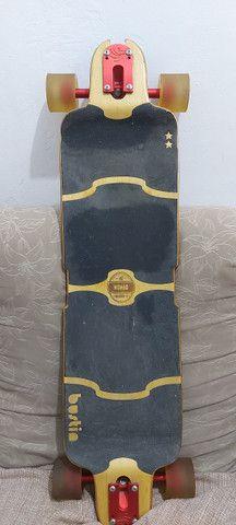 Longboard Bustin Nomad Deck - Bamboo-X - Paris V2 180mm - Foto 2