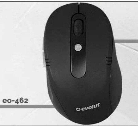 Kit Mouse Sem Fio Teclado Office Evolut - Foto 6