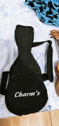 Ukulele soprano shelby com a capa  - Foto 3
