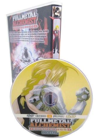 Box Dvd Full Metal Alchemist Brotherhood Dublado + Filme - Foto 3