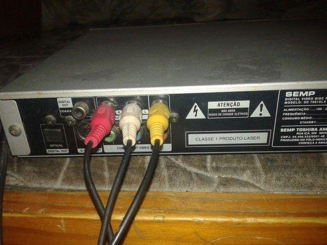 aparelo de DVD Semp Toshiba  canhão queimado  - Foto 3