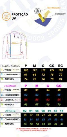 Camisa camiseta de Pesca kit Pai e Filho com proteção UV apronta entrega. - Foto 5