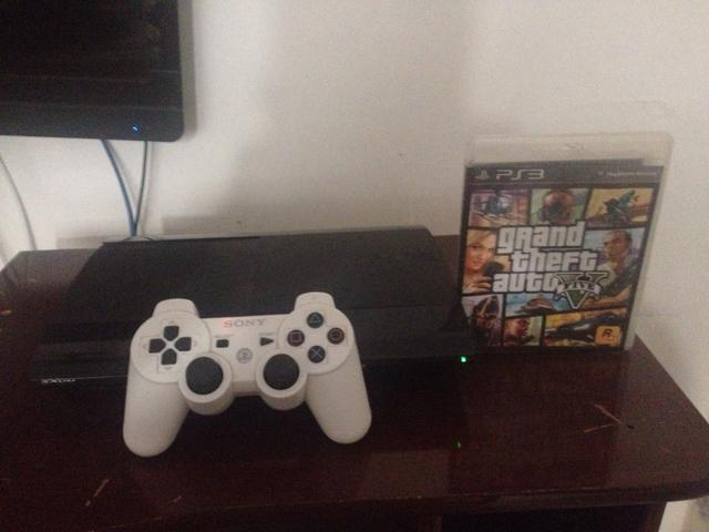 Ps3 super slim 500 gb tr0c0 em pc gamer