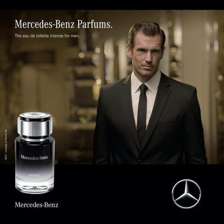 Perfume Mercedes Benz Intense edt Masculino 120 ml