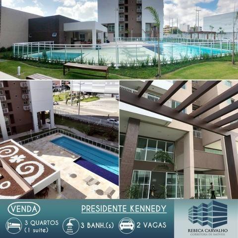 Apartamento de frente ao shopping Riomar kennedy - Fortaleza