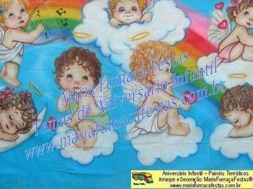 Painéis temáticos para decoração de aniversário infantil
