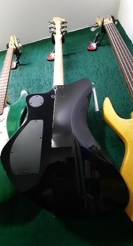 Guitarra Fernandes Vertigo X Bk Preta linda no mostruário da Loja instrumento novo! - Foto 3