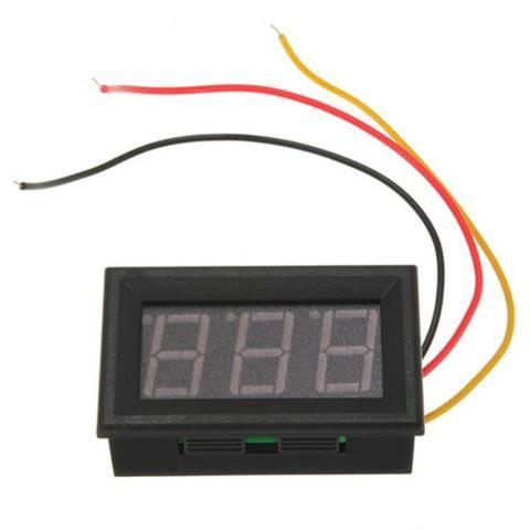 Mini voltimetro digital com remoto