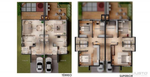 Casa de condomínio à venda com 3 dormitórios em Morro do espelho, São leopoldo cod:11308 - Foto 2