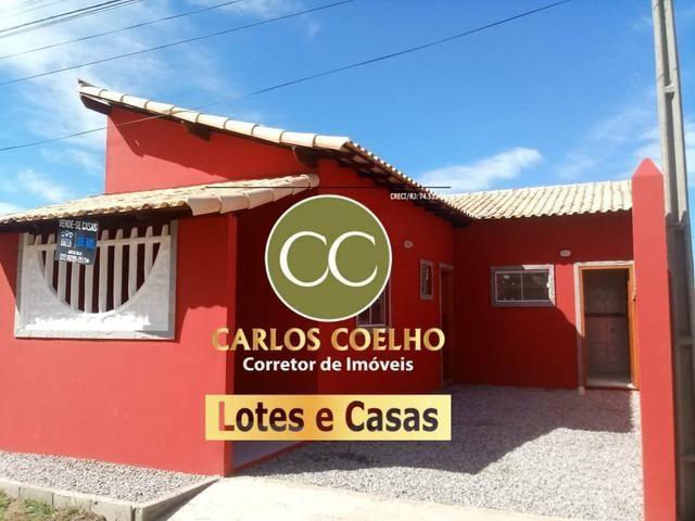 F Casas Novas Recém construídas em Unamar - Tamoios - Cabo Frio