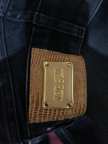 Calça Jeans Skinny, tamanho 34 - Foto 2