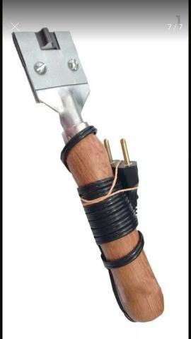 Maquina de de Fazer chinelos Completa 7x1 + facas do 23 ao 42 - Foto 6