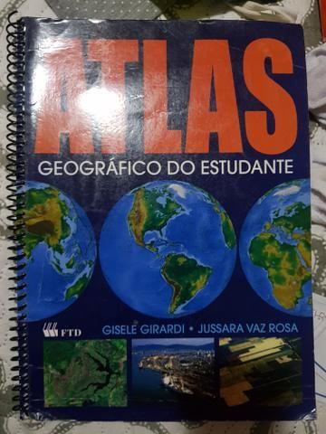 Livro Atlas geográfico do estudante