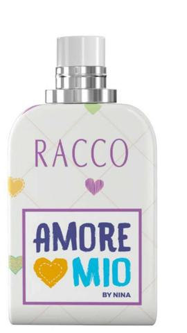 Deo colonia perfume menina - Amore Mio By Nina 100ml - Racco sem alcool infantil criança
