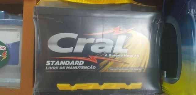 Baterias cral 60ah standard com 12 meses de garantia