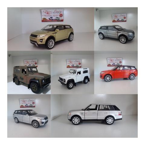 Miniaturas Range Rover
